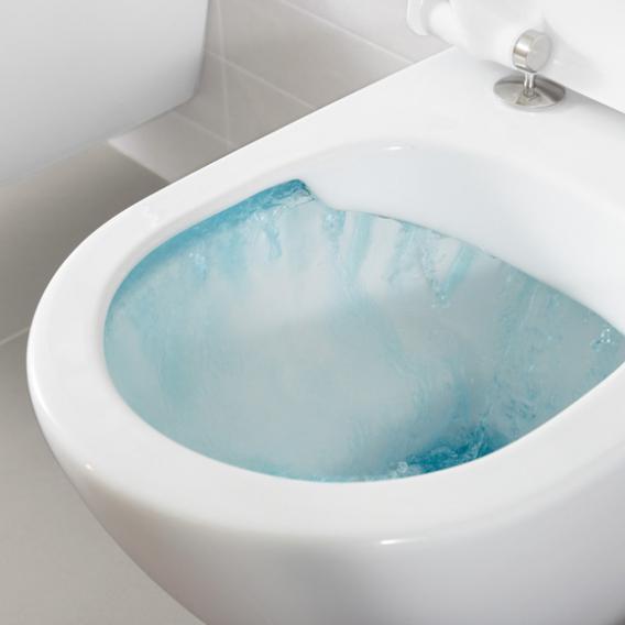 Villeroy & Boch Embrace Combi-Pack Wand-Tiefspül-WC, mit DirectFlush, mit WC-Sitz