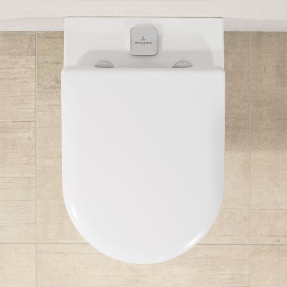 Villeroy & Boch Subway 2.0 ViFresh Wand-Tiefspül-WC, offener Spülrand, DirectFlush weiß, mit CeramicPlus und AntiBac