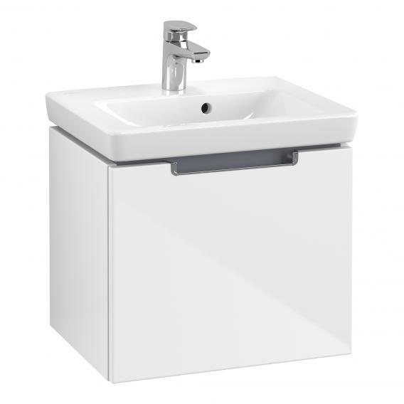 Villeroy & Boch Subway 2.0 Waschtisch mit Waschtischunterschrank mit 1 Auszug weiß
