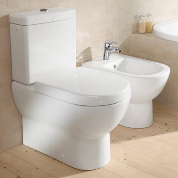 Villeroy & Boch Subway WC-Sitz weiß mit Quick Release und Absenkautomatik soft-close