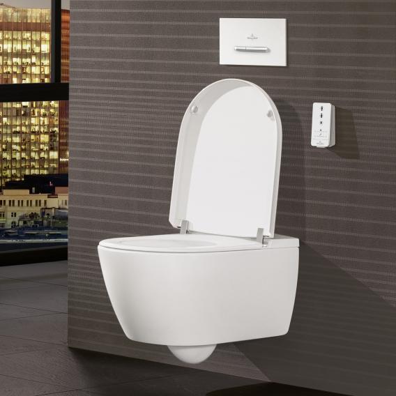 Villeroy & Boch ViClean I100 das NEUE Dusch-WC, mit WC-Sitz weiß