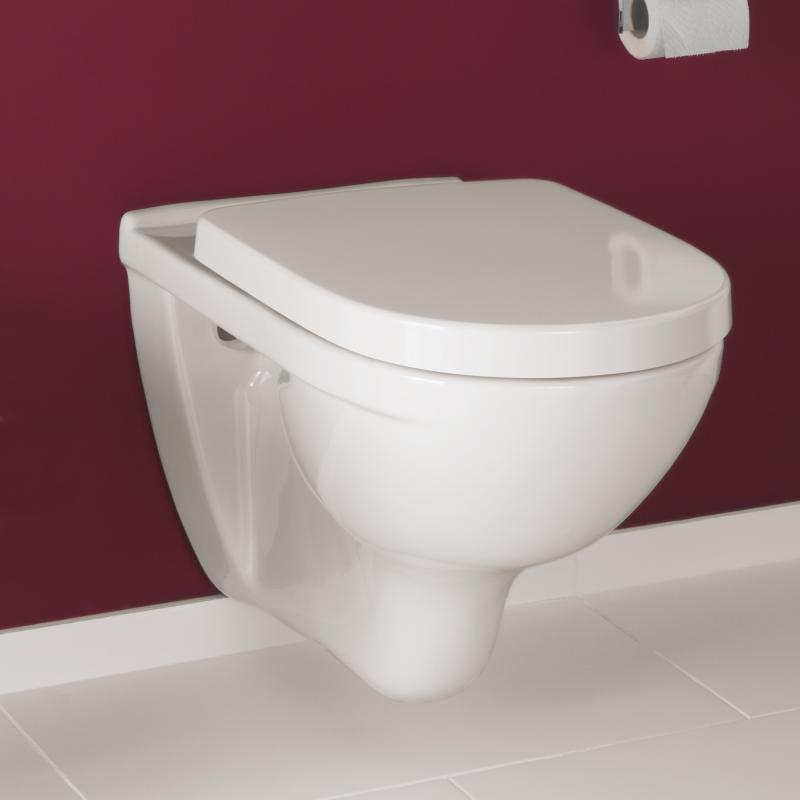 Villeroy & Boch O.novo Wand-Tiefspül-WC weiß - 56601001 - Emero.de