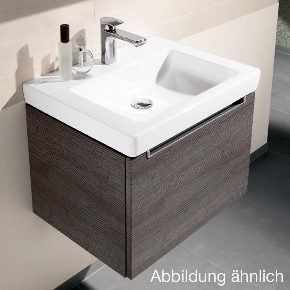 Villeroy /& Boch SUBWAY 2.0 Waschtisch 65 x 47 cm mit Ceramicplus Beschichtung