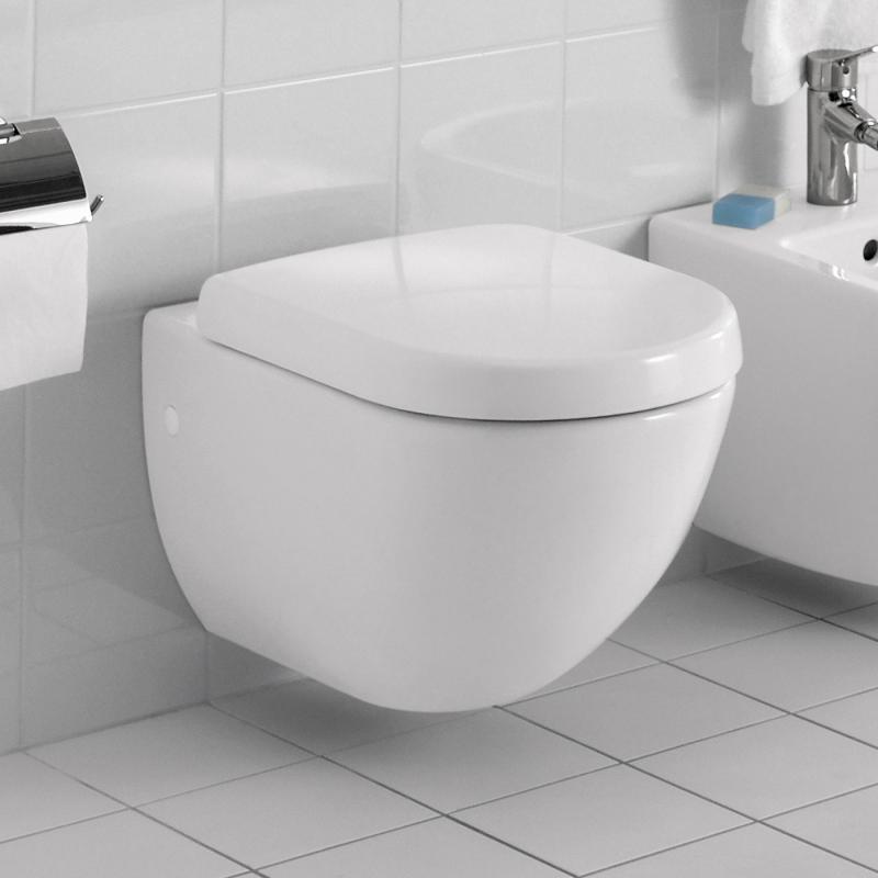 Villeroy & Boch Subway Tiefspül-Wand-WC weiß mit CeramicPlus ...