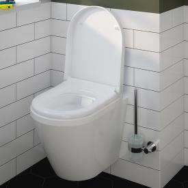 VitrA Integra Wand-Tiefspül-WC Compact VitrAflush 2.0 mit Bidetfunktion weiß