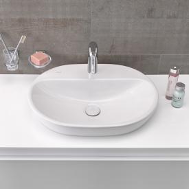 VitrA Metropole Aufsatzwaschtisch, oval weiß ohne Überlauf