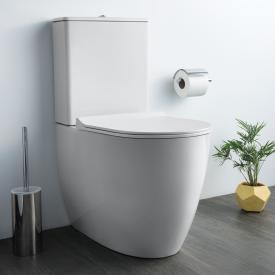 VitrA Sento Stand-Tiefspül-WC für Kombination, VitrAflush 2.0, back to wall weiß, mit VitrAclean