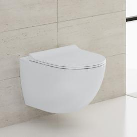 VitrA Sento Wand-Tiefspül-WC ohne Spülrand, weiß, mit VitrAclean