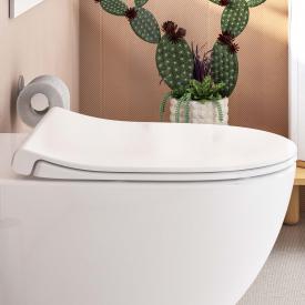 VitrA Sento WC-Sitz Slim, Sandwichform, mit Absenkautomatik & abnehmbar weiß
