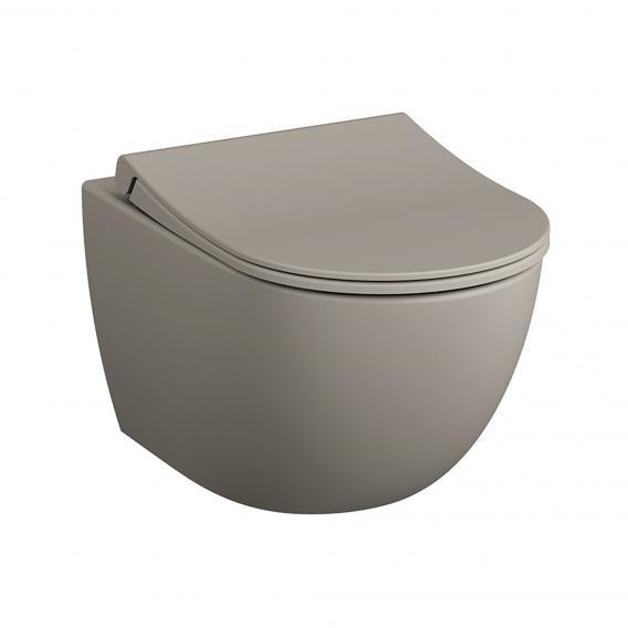 VitrA Sento Wand-Tiefspül-WC Ohne Spülrand, Taupe Matt