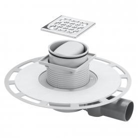 Viega Advantix-Badablauf, waagerecht Aufsatz mit Kunststoffrahmen