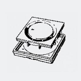 Viega Visign-Rost L: 10 B: 10 cm