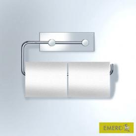 Vola T13 Papierhalter für zwei WC-Rollen chrom