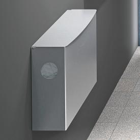 Wagner-Ewar A-Linie Hygieneabfallbehälter mit Hygiene-Beutelspender 4 Liter edelstahl gebürstet
