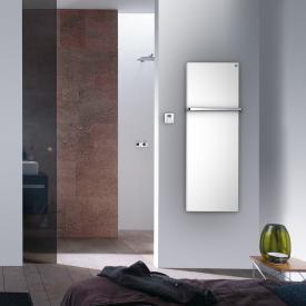 Zehnder Fina Bar Badheizkörper für rein elektrischen Betrieb weiß, 450 Watt