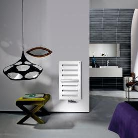 Zehnder Metropolitan Bar Badheizkörper für Warmwasserbetrieb weiß, 323 Watt, normale Ausführung