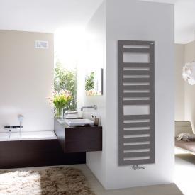Zehnder Metropolitan Spa Badheizkörper für Warmwasserbetrieb grau aluminium, 889 Watt
