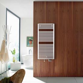 Zehnder Universal Badheizkörper für Warmwasser- oder Mischbetrieb weiß, einlagig, 735 Watt