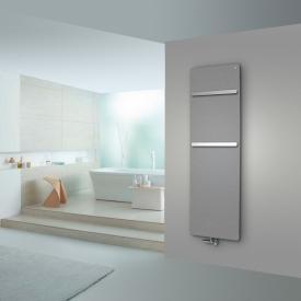 Zehnder Vitalo Bar Badheizkörper für Warmwasserbetrieb grau aluminium, 834 Watt