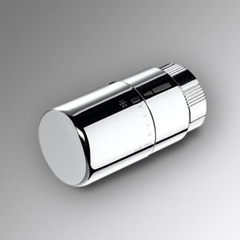 Zehnder Design Line Thermostat chrom