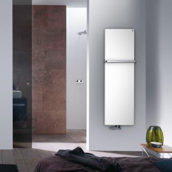 Zehnder Fina Bar Badheizkörper für Warmwasserbetrieb weiß, 833 Watt