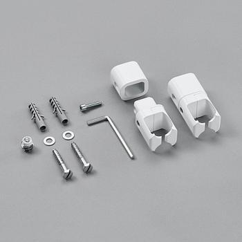 Zehnder Raumteiler-Montagezubehör ohne Fußstütze für Toga weiß