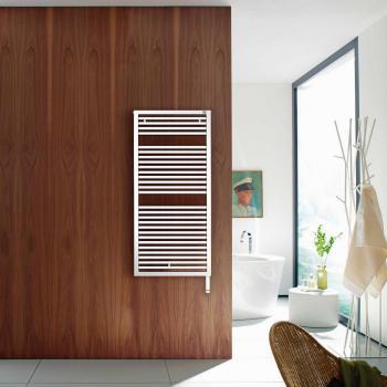Zehnder Universal Badheizkörper für rein elektrischen Betrieb weiß, 600 Watt