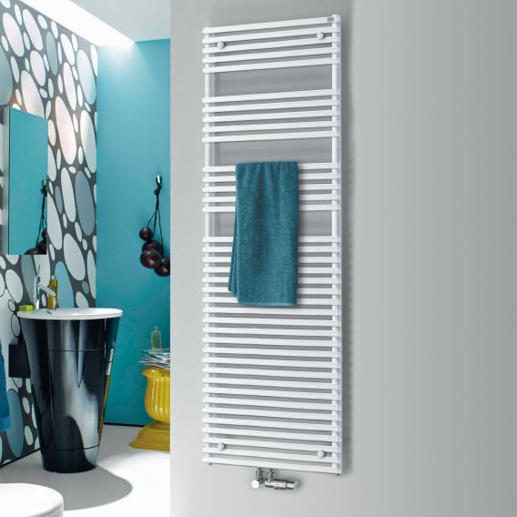 Zehnder forma Badheizkörper für Warmwasser- oder gemischten Betrieb weiss Breite 596 mm, 1133 Watt