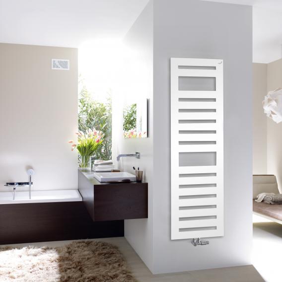 Zehnder Metropolitan Spa Badheizkörper für Warmwasserbetrieb weiß, 889 Watt